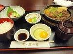 荒井屋(牛鍋定食)