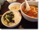 ご飯セット(ニラ玉)