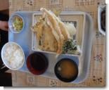 天ぷら盛合せ定食